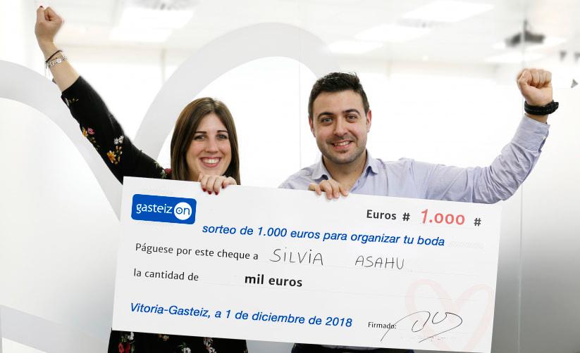 Sorteo de 1.000 euros para organizar tu boda!!